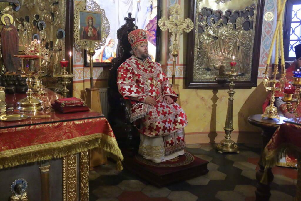 Престольный праздник в Никольском храме города Касимова
