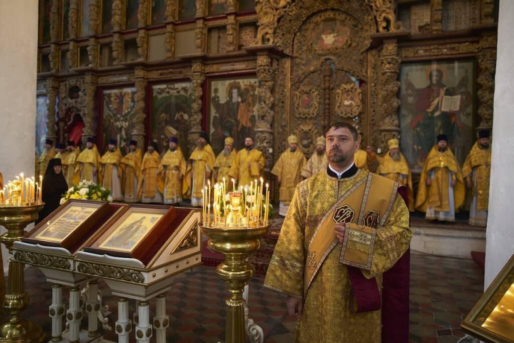 Преосвященный епископ Василий принял участие в праздновании по случаю празднования Собора Рязанских святых
