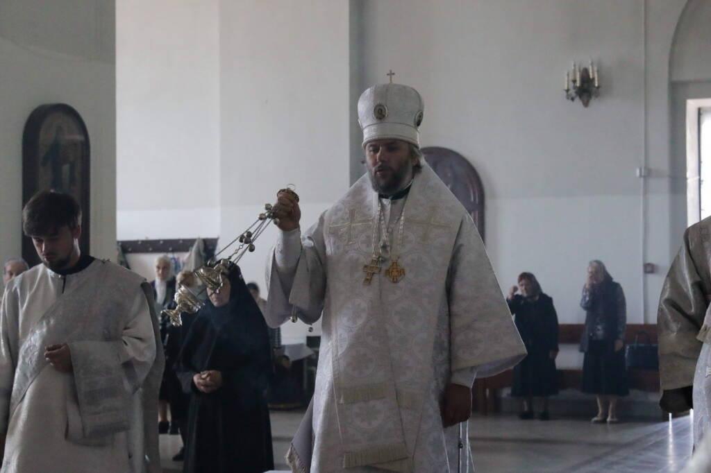 Троицкая Родительская суббота в Вознесенском кафедральном соборе города Касимова