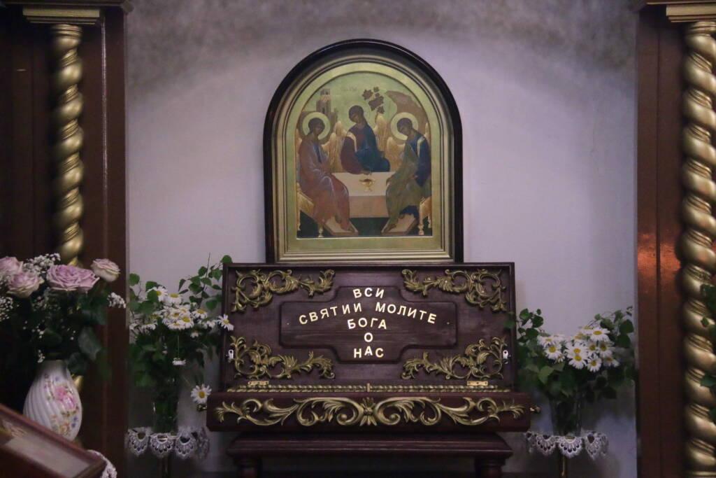 Престольный праздник в Троицком храме города Касимова