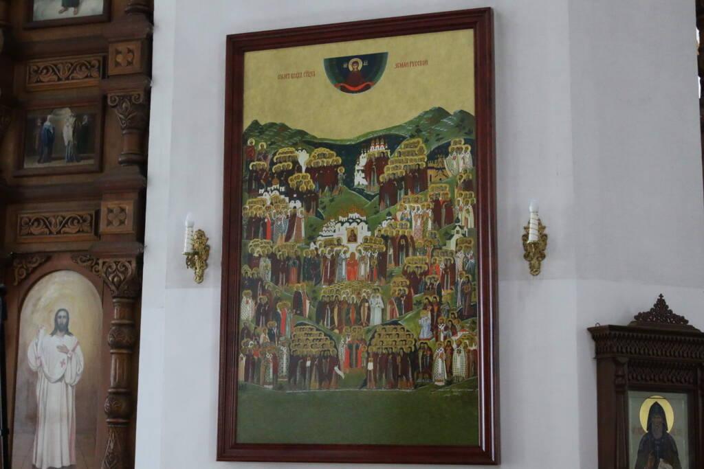 Всенощное бдение в канун Недели 2-й по Пятидесятнице, Всех святых в земле Российской просиявших в Вознесенском кафедральном соборе города Касимова