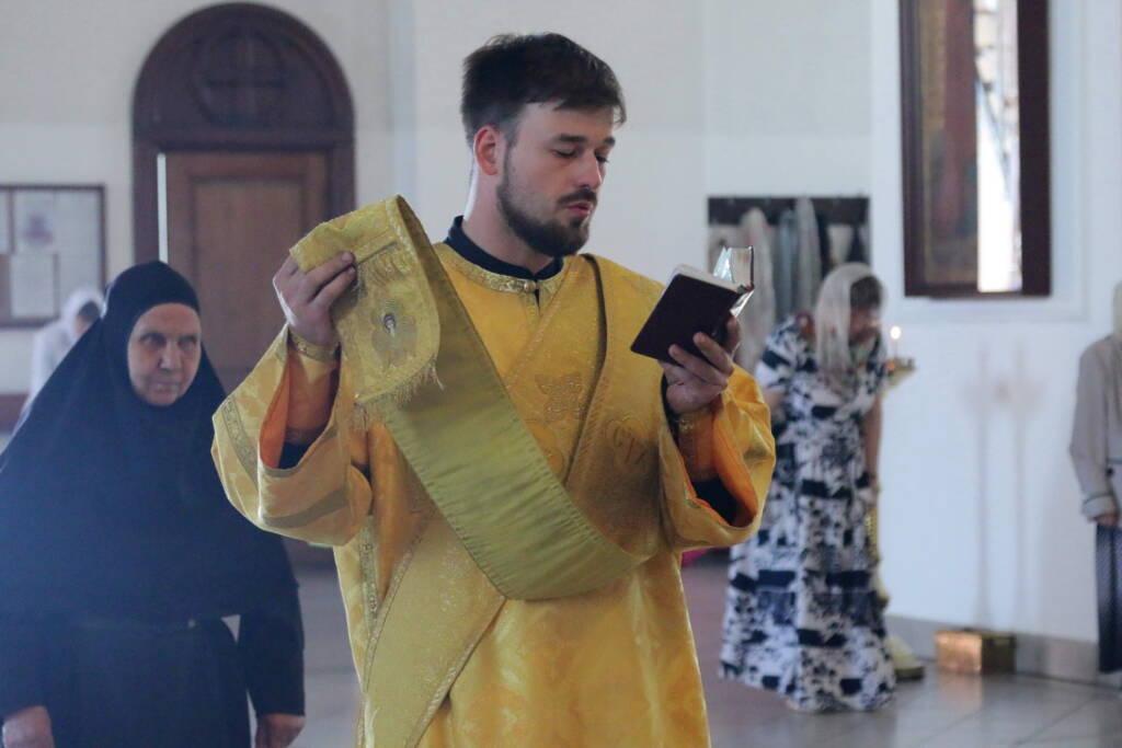 Всенощное бдение в канун Недели 3-й по Пятидесятнице в Вознесенском кафедральном соборе города Касимова