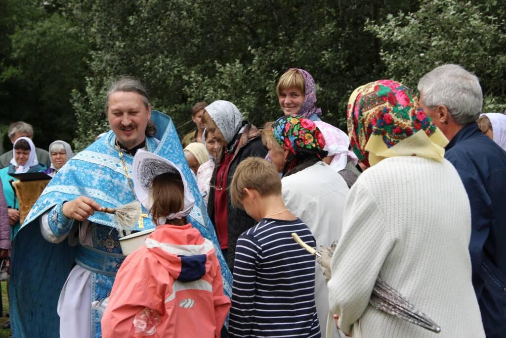 День памяти Тихвинской иконы Божией Матери в селе Аристово (Колычёво) Клепиковского района