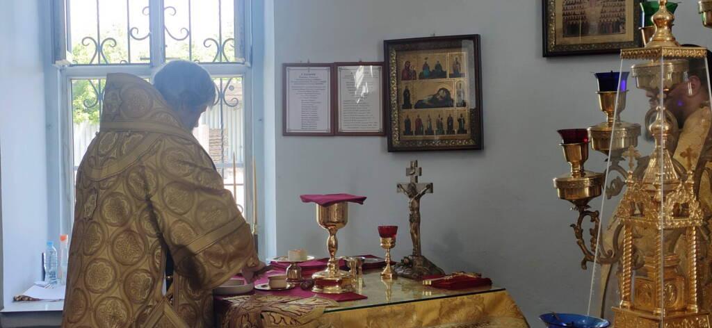 Рождество честного славного Пророка, Предтечи и Крестителя Господня Иоанна в Успенском храме поселка Шилово