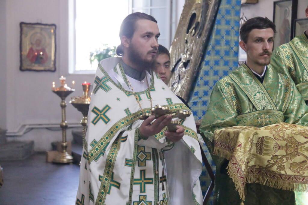 День памяти благоверных князей Петра и Февронии Муромских в Благовещенском храме города Касимова