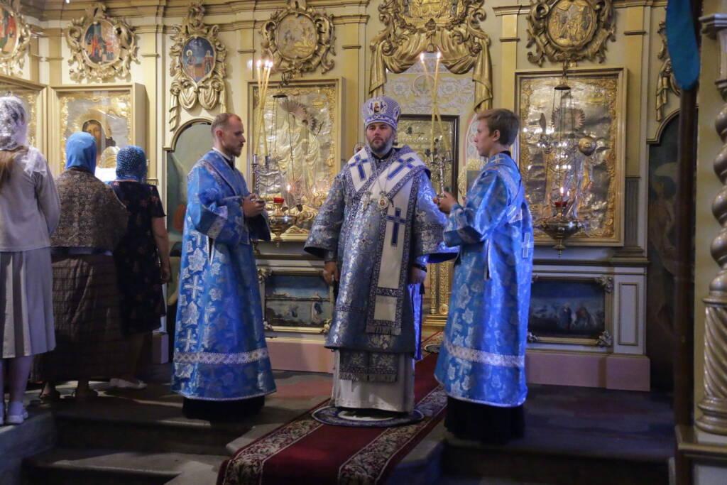 В Никольском храме города Касимова отметили праздник явления иконы Божией матери во граде Казани