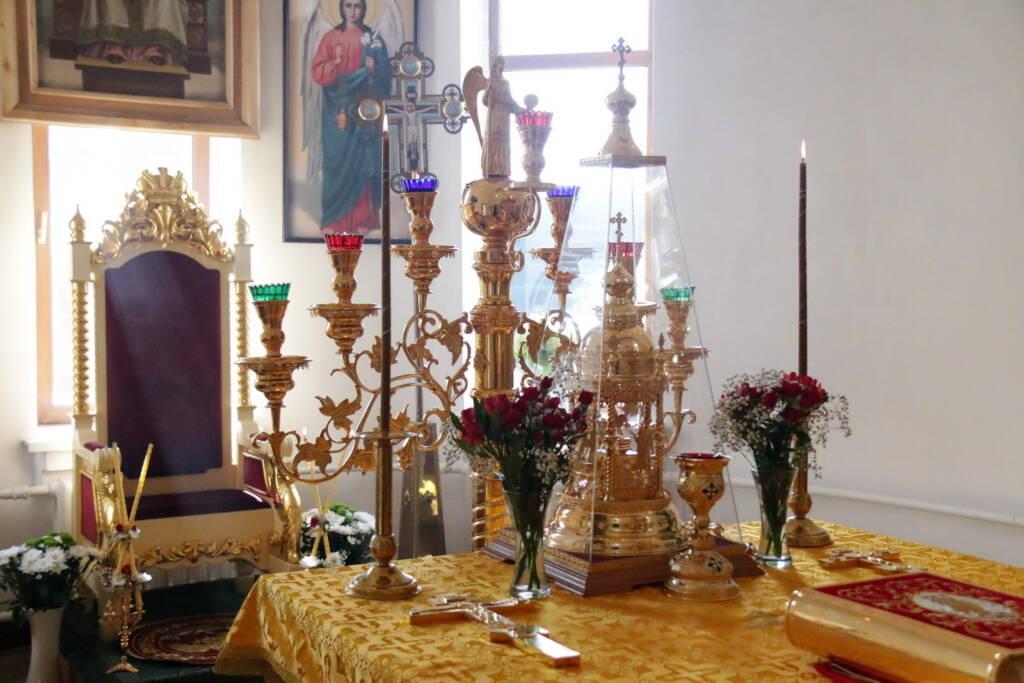 День памяти святого равноапостольного великого князя Владимира в Христорождественском храме села Лашма Касимовского района