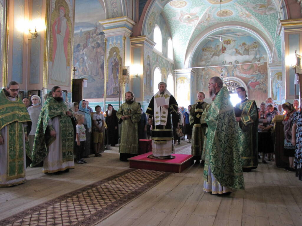 День памяти преподобного Германа Аляскинского в Димитриевском храме п. Кадома