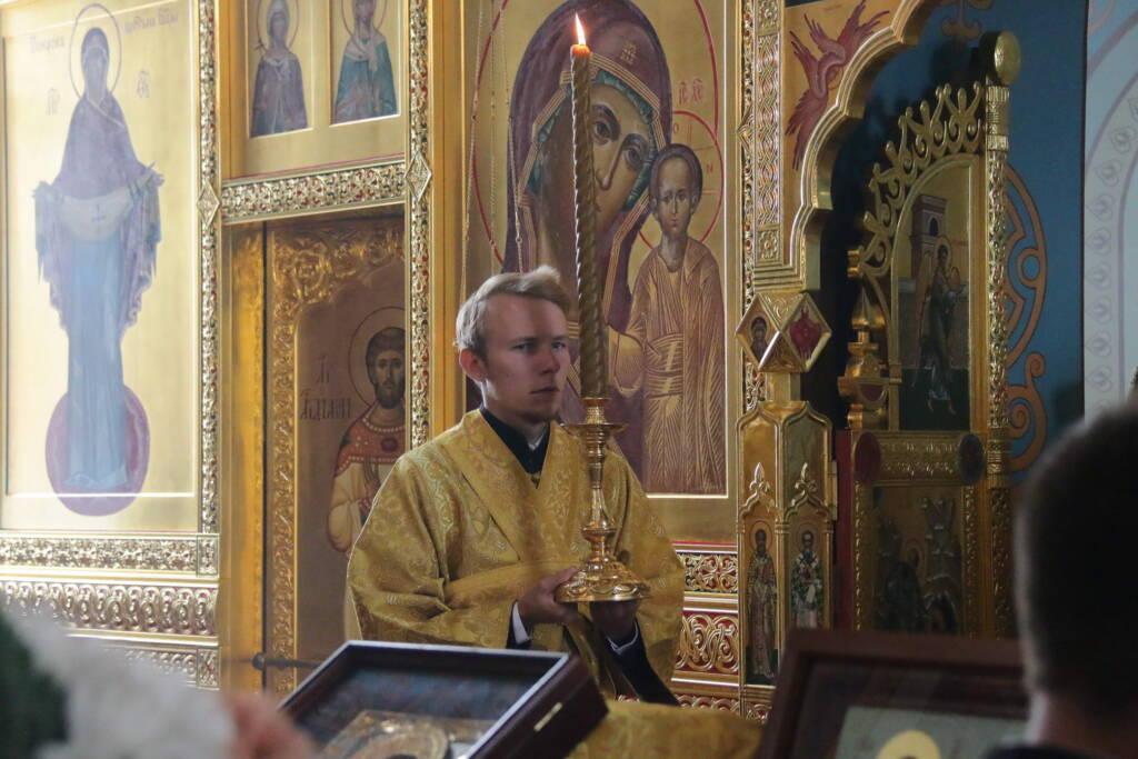 Рождество святителя Николая Чудотворца в Троицком храме с. Нармушадь Шиловского района