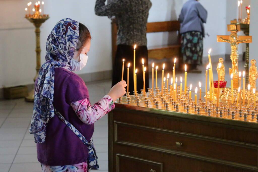Божественная литургия в Неделю 10-ю по Пятидесятнице в Вознесенском кафедральном соборе города Касимова