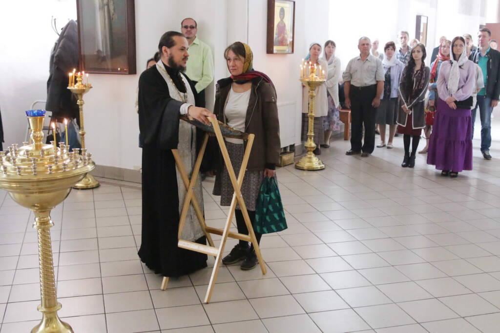 Божественная литургия в Неделю 11-ю по Пятидесятнице в Вознесенском кафедральном соборе города Касимова