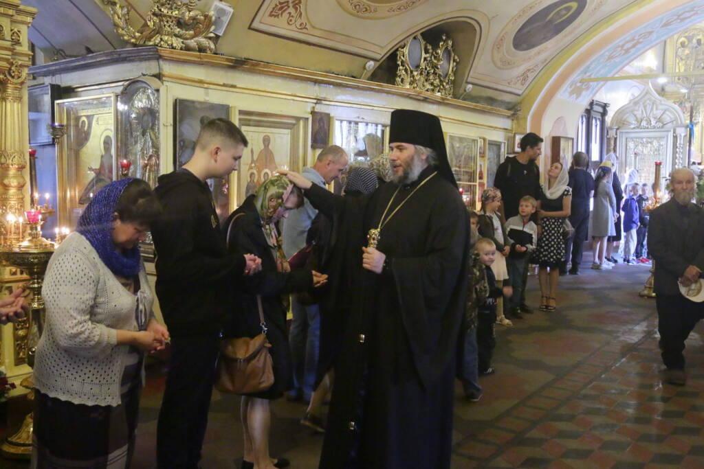Божественная литургия в Неделю 12-ю по Пятидесятнице в Никольском храме г. Касимова