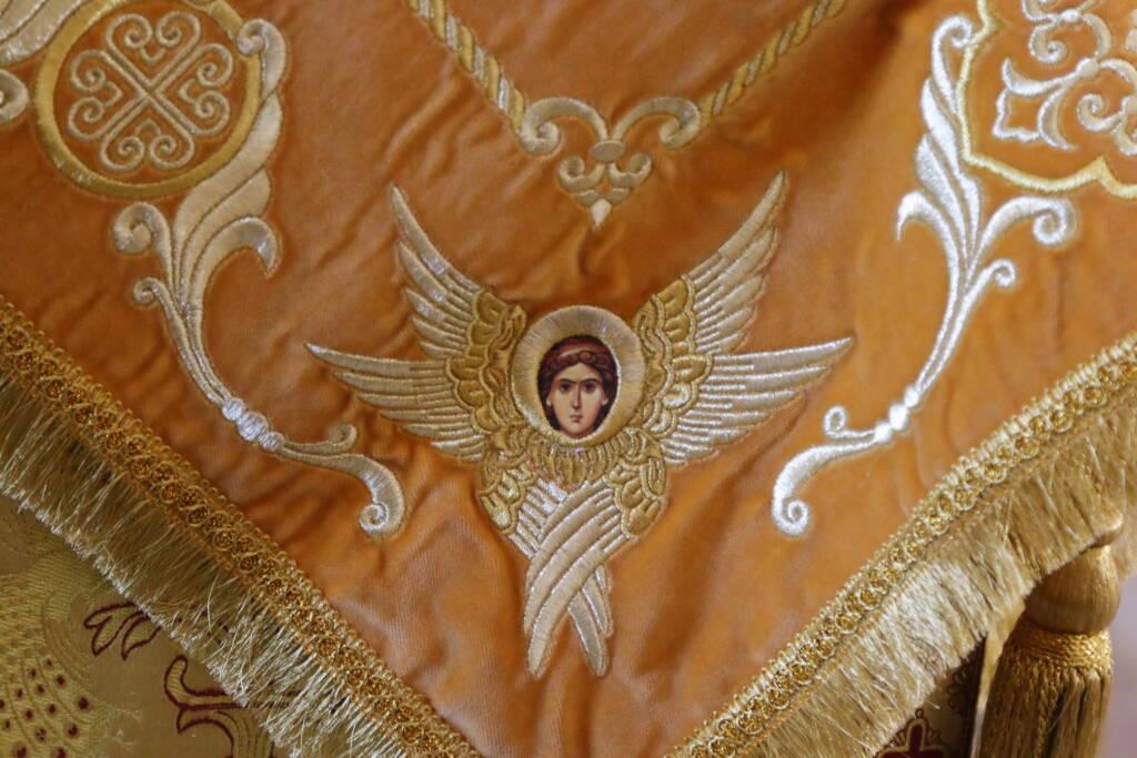 Божественная Литургия в Неделю 13-ю по Пятидесятнице в Вознесенском кафедральном соборе города Касимова