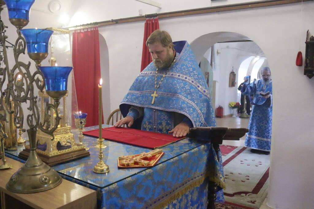 Престольный праздник в храме Рождества Пресвятой Богородицы села Перво Касимовского района