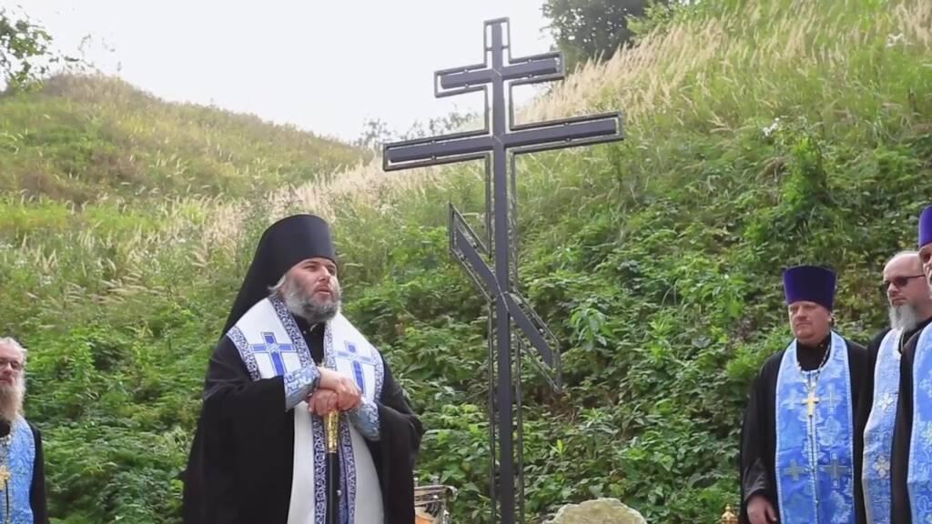 Божественная литургия на отдание праздника Успения Пресвятой Богородицы в Преображенском храме поселка Шилово