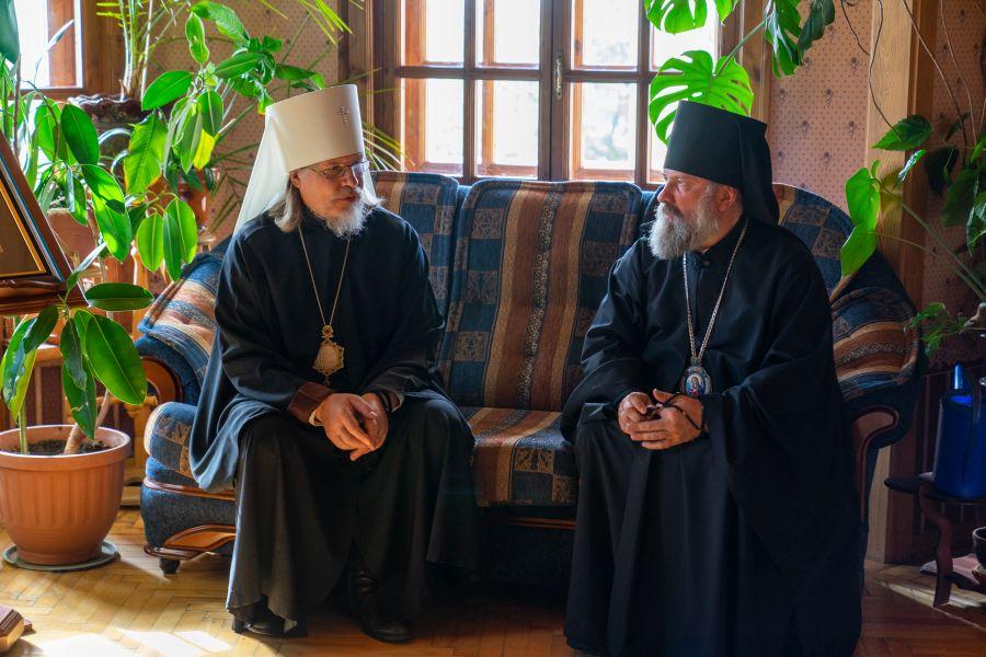 Преосвященнейший епископ Василий принял участие в Архиерейском совете Рязанской митрополии в новом составе