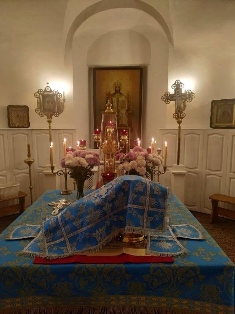 День памяти Иверской иконы Божией Матери в Благовещенском храме города Касимова