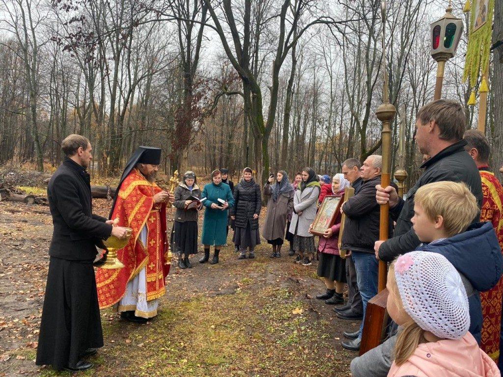 День памяти священномученика Иувеналия, епископа Рязанского и Шацкого в Крестовоздвиженской Полунинской общине села Красный Холм Шиловского района