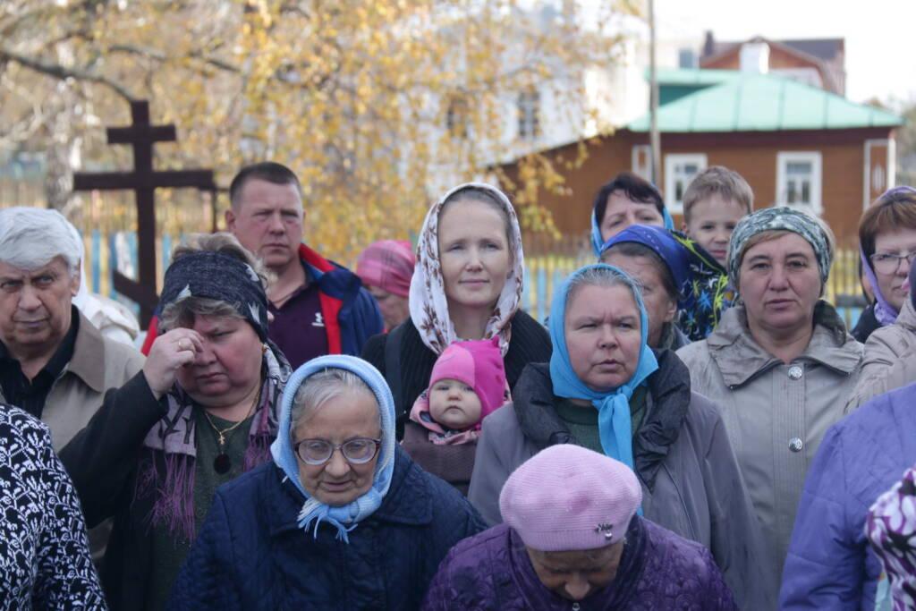 Престольный праздник в Покровском храме поселка Сынтул Касимовского района