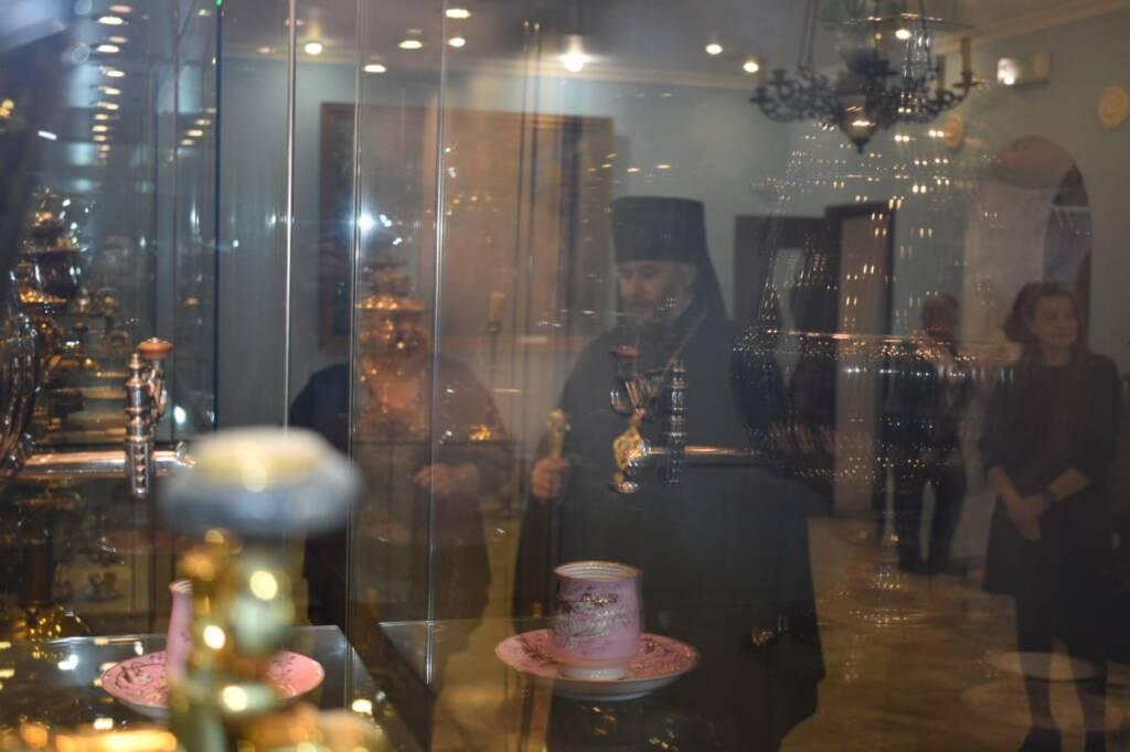 Преосвященный епископ Василий посетил музеи города Касимова