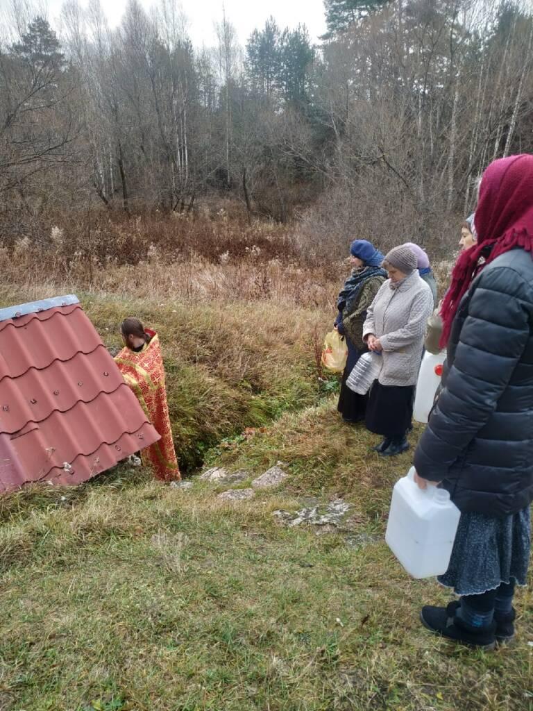 В деревне Шульгино Касимовского района почтили память великомученицы Параскевы Пятницы