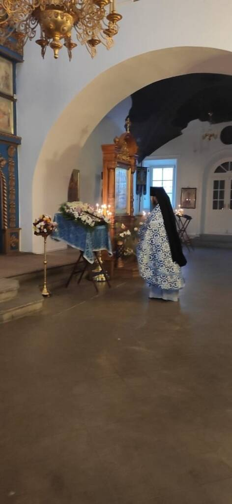 День памяти Казанской иконы Божией Матери в Благовещенском храме города Касимова