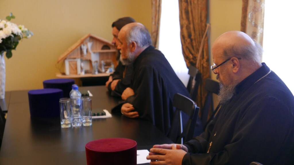 Под председательством епископа Касимовского и Сасовского Василия состоялось заседание епархиального совета