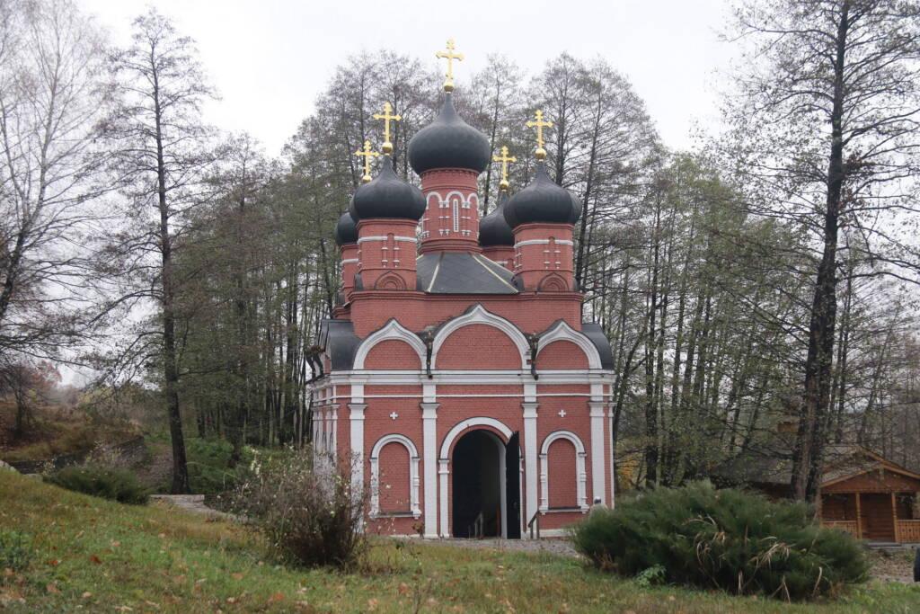 Паломничество в Иоанно Богословский мужской монастырь Рязанской епархии