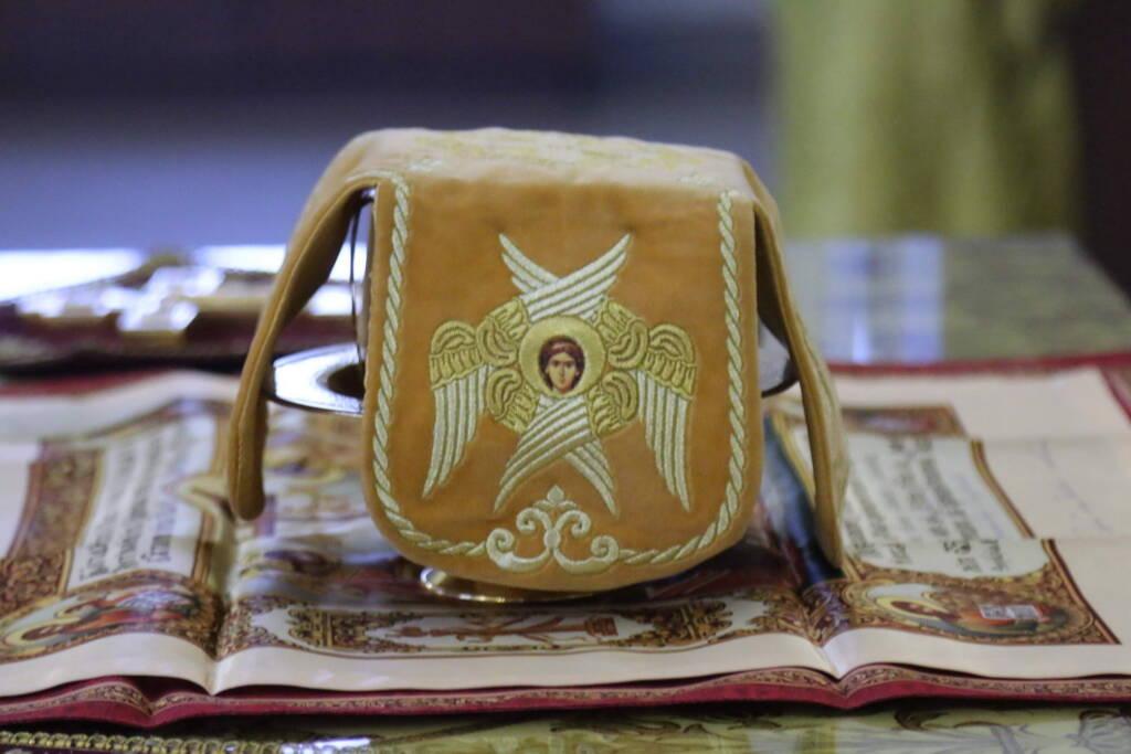 Божественная литургия в Неделю 22-ю по Пятидесятнице в Вознесенском кафедральном соборе города Касимова