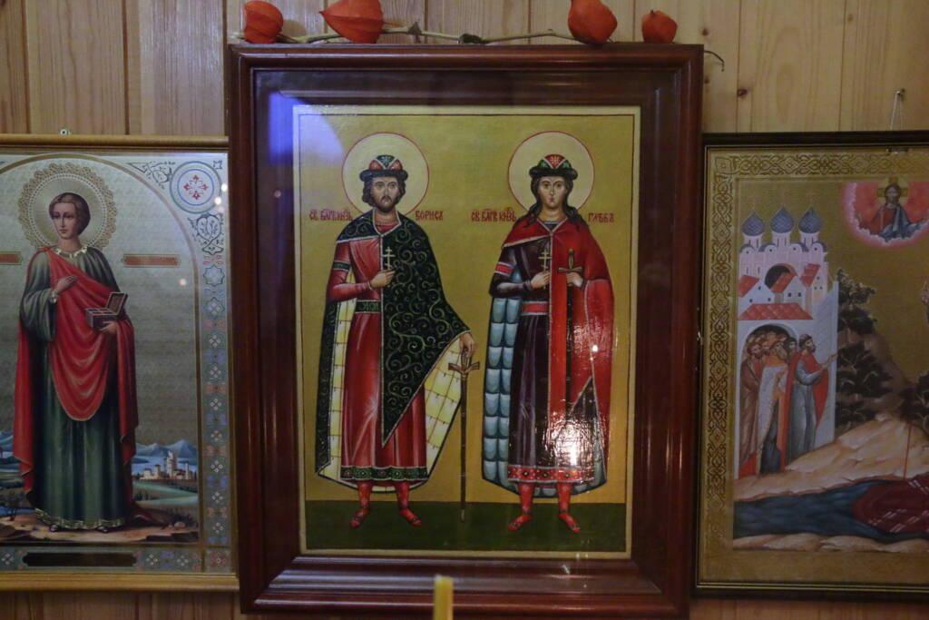 Божественная литургия в Неделю 23-ю по Пятидесятнице в Борисоглебском храме села Пустынь Касимовского района