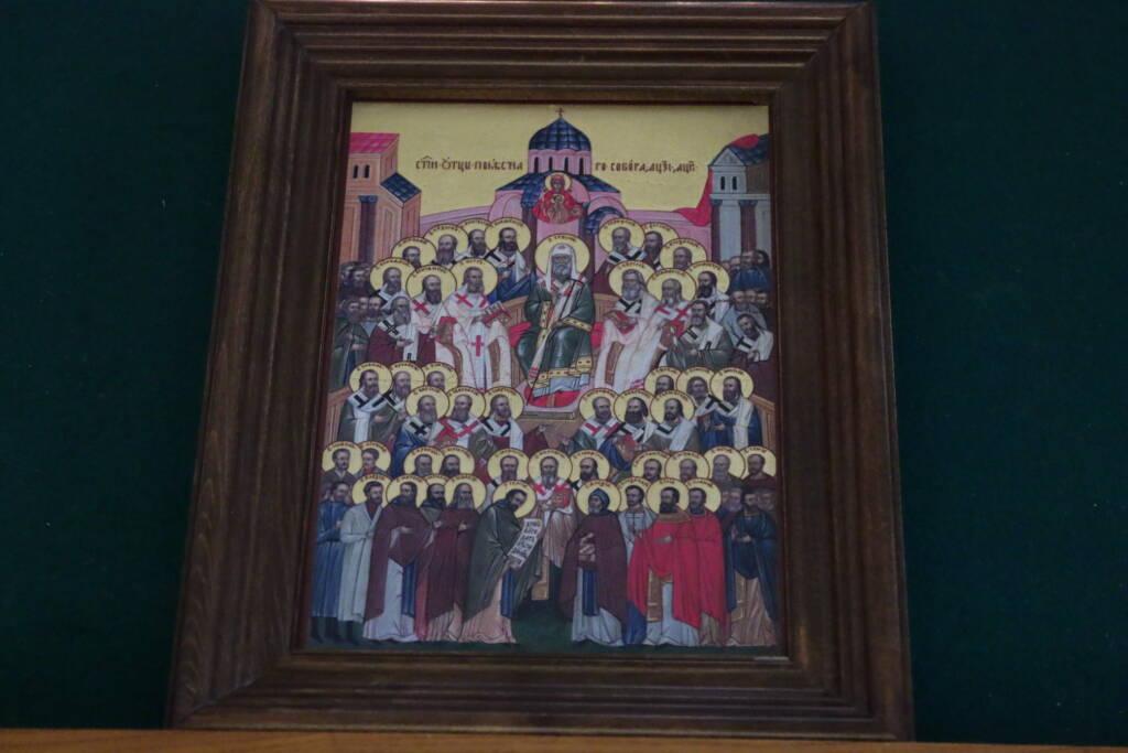 День памяти Отцов Поместного Собора Церкви Русской 1917–1918 годов в Вознесенском кафедральном соборе г. Касимова