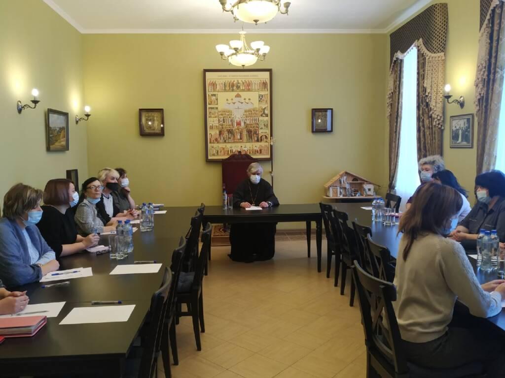 Епископ Василий встретился с педагогической общественностью города Касимова