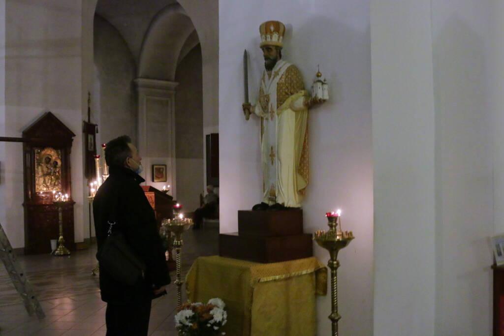 В канун Седмицы 27-й по Пятидесятнице епископ Василий возглавил Всенощное бдение в Вознесенском Кафедральном соборе г. Касимова