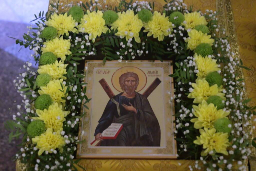 Божественная Литургия в Неделю 27-ю по Пятидесятнице в Георгиевском (Богоявленском) храме города Касимова
