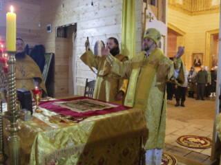 Престольный праздник в Никольском храме города Спас-Клепики