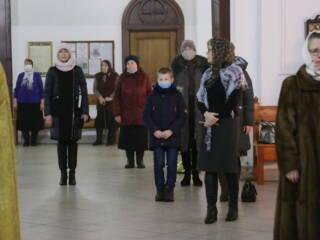Божественная Литургия в Неделю 28-ю по Пятидесятнице в Вознесенском кафедральном соборе г. Касимова