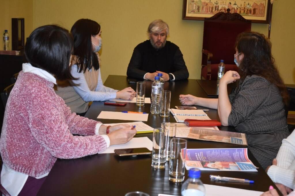 В Епархиальном управлении состоялось очередное заседание молодежного совета под председательством епископа Касимовского и Сасовского Василия