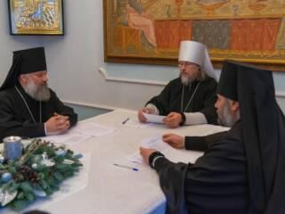 Преосвященный епископ Василий принял участие в Архиерейском совете  митрополии