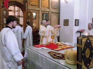 Божественная Литургия  на праздник Крещения Господня в Вознесенском кафедральном соборе города Касимова