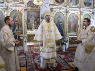 День памяти апостола, первомученика и архидиакона Стефана в Успенском храме поселка Шилово