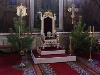Божественная Литургия в Неделю 31-й по Пятидесятнице, по Рождестве Христовом в Милостиво-Богородицком женском монастыре поселка Кадома