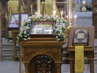 Всенощное бдение в канун Недели 33-й по Пятидесятнице, по Богоявлении в Вознесенском кафедральном соборе города Касимова