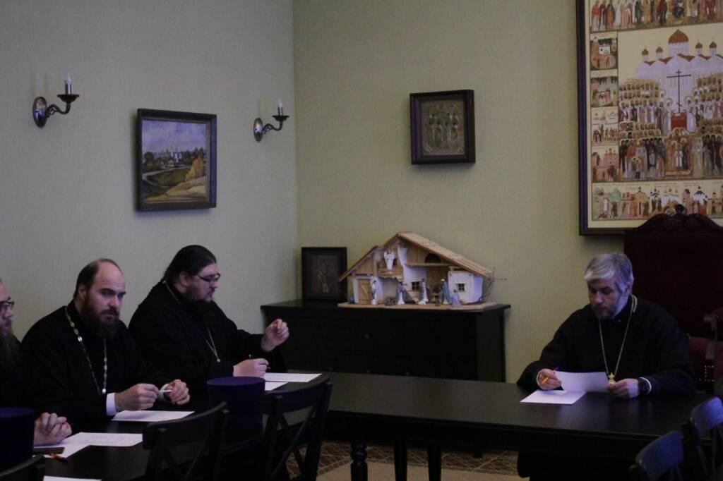 Епископ Василий возглавил заседание рабочей группы по празднованию преподобного Германа Аляскинского