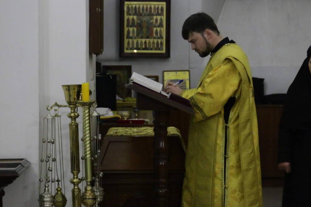 Всенощное бдение в канун Недели 36-й по Пятидесятнице в Вознесенском кафедральном соборе города Касимова