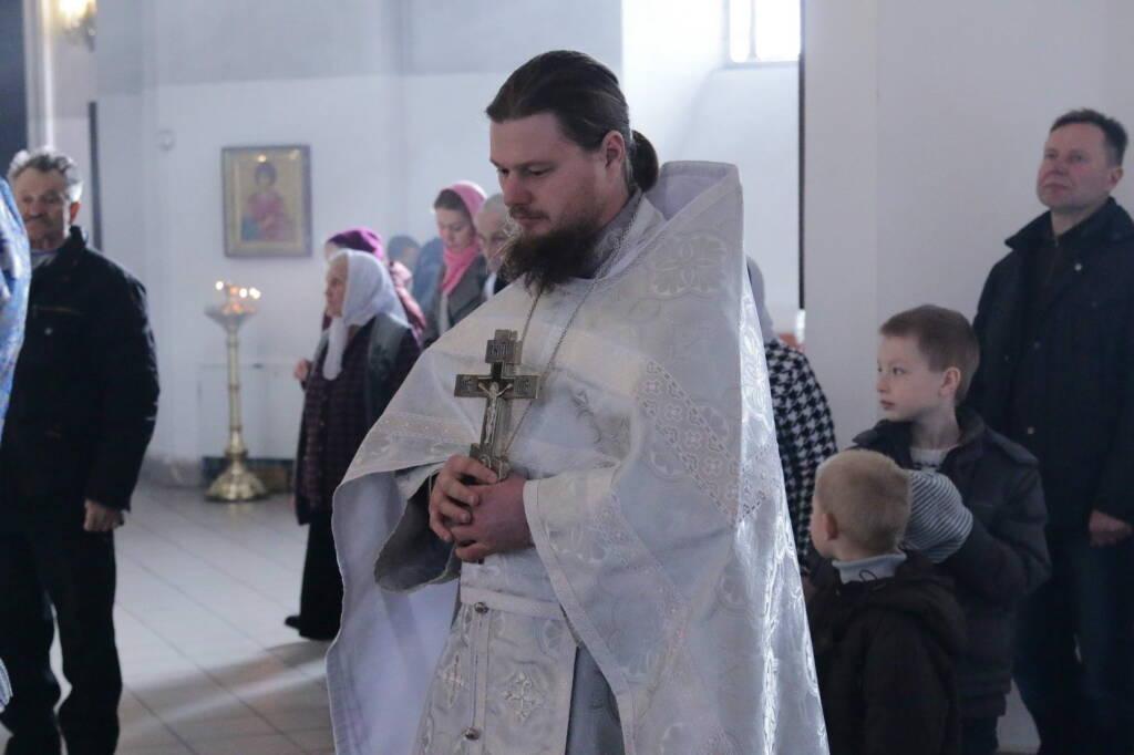 Божественная Литургия на празднование Сретения Господа Нашего Иисуса Христа в Вознесенском Кафедральном соборе города Касимова
