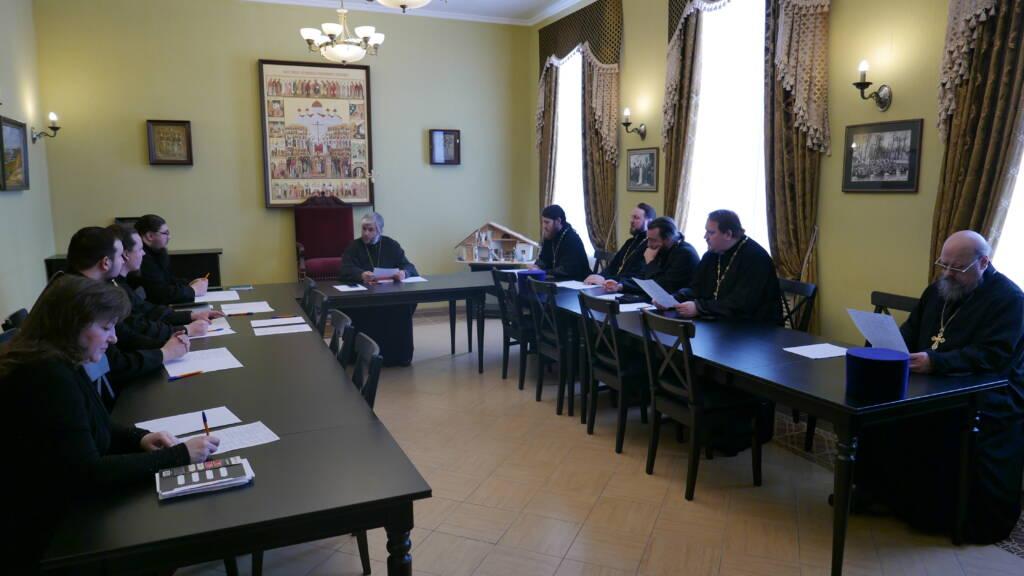 Епископ Василий возглавил заседание рабочей группы по 10-летию образования Касимовской епархии