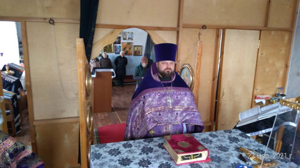 Соборное служение духовенства Агломазовского благочиния