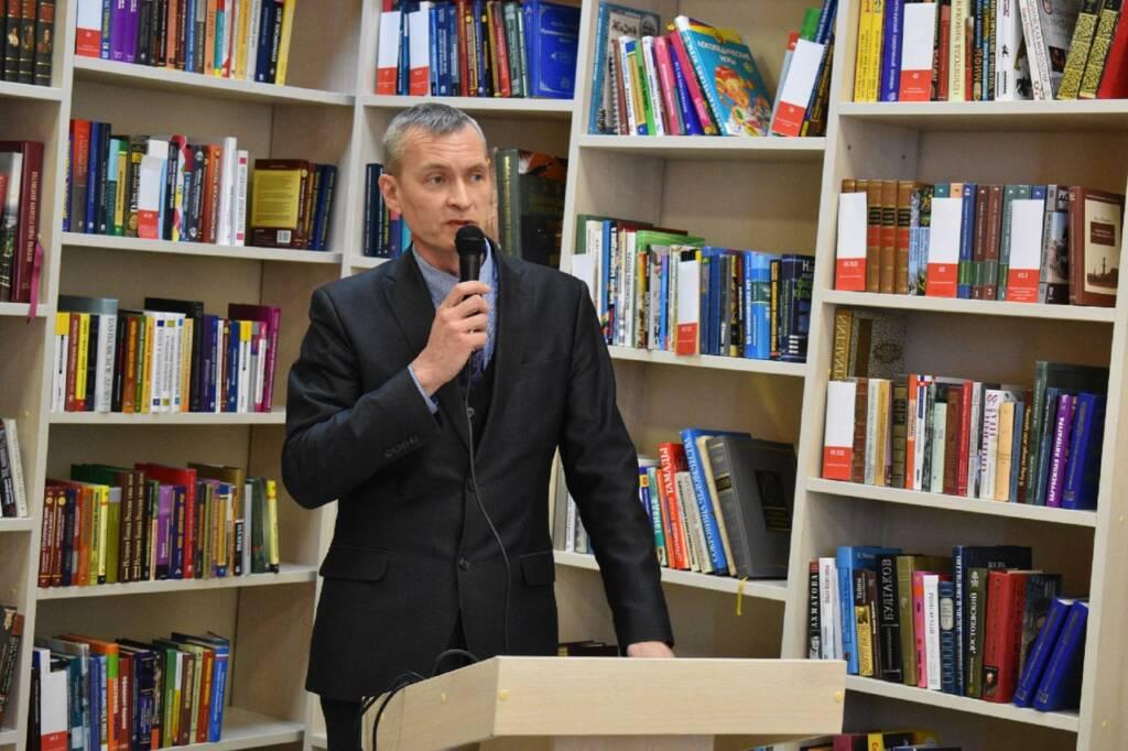 25 марта в Центральной библиотеке им. Л. А.Малюгина в рамках празднования 270-летия преподобного Германа Аляскинского прошла конференция «Просветители Аляски»