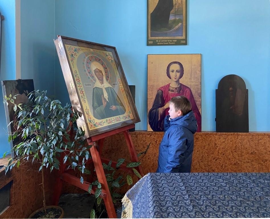 """В Успенском храме п. Шилово прошла благотворительная акция """"Подари книгу детям"""""""
