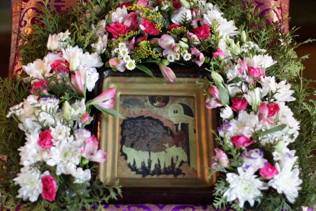 Литургия Преждеосвященных Даров в храме Всемилостивого Спаса п. Сынтул Касимовского района в день памяти Сорока мучеников Севастийских